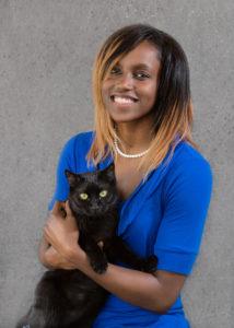 Shaunice, Veterinary Assistant at Atlantic Veterinary Hospital, Seattle